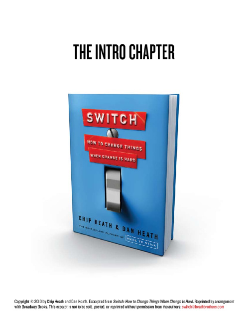 Switch - Chapter 1