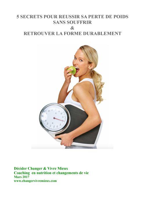 5 secrets pour perdre du poids Efficacement & Sans souffrir