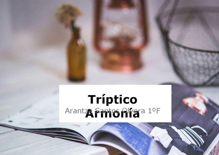 Triptico Armonía