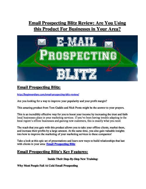 Email Prospecting Blitz review-(MEGA) $23,500 bonus of Email Pro