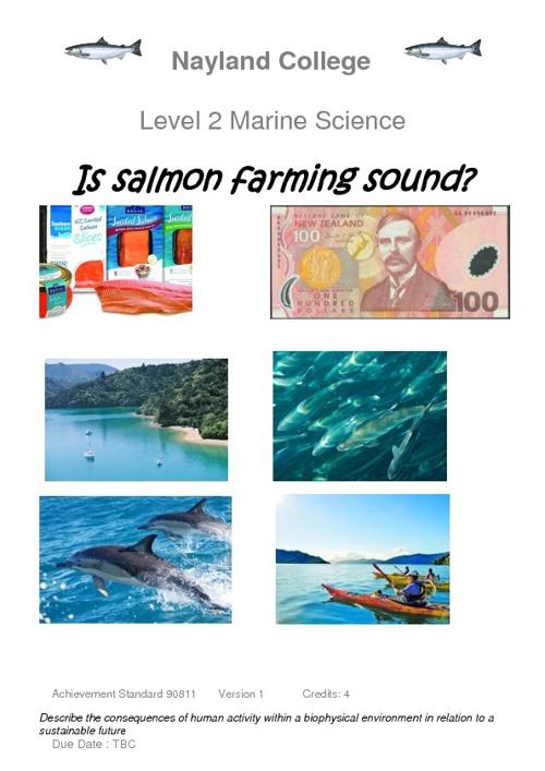 salmon aqua task
