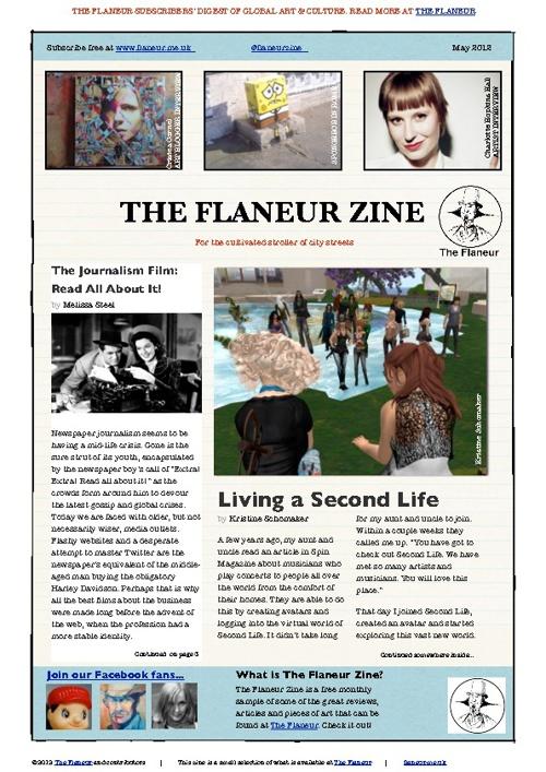 The Flaneur art Zine