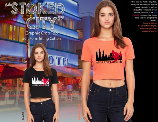Come Outside Lookbook_2015_Stoked City_Crop Top