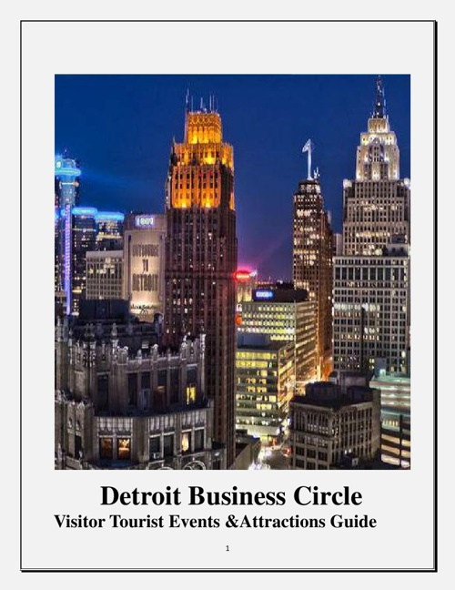 Detroit Business Circle Tourist Attractions Guide