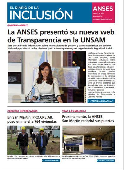 Diario de la Inclusión en San Martín