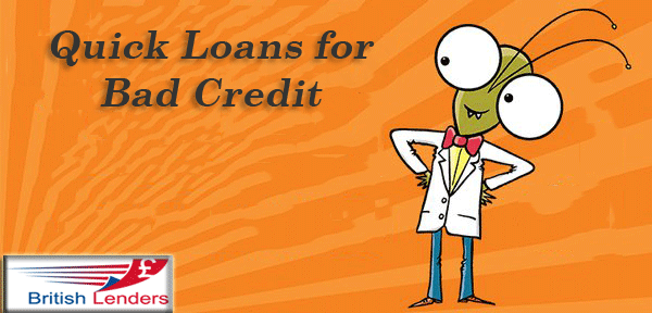 Quick loans for bad credit at reliable terms