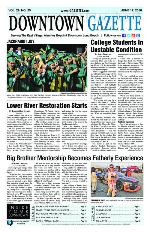 Downtown Gazette     June 17, 2016