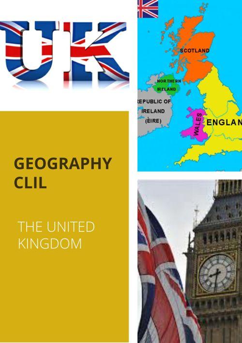 GEOGRAPHY  CLIL- UNITED KINGDOM