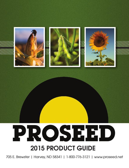 2015 PROSEED PRODUCT GUIDE