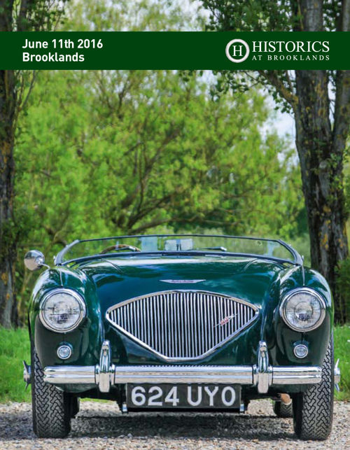 Historics 11th June 2016 Auction