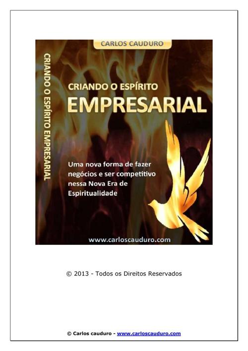 Criando o Espírito Empresarial