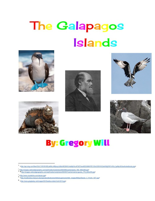 Gregory Will's Galapagos Islands Ebook