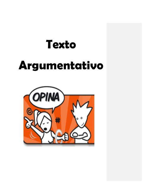 Estela 2A Texto Argumentativo