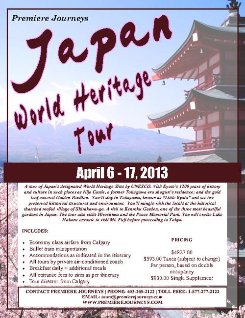 Japan World Heritage Tour