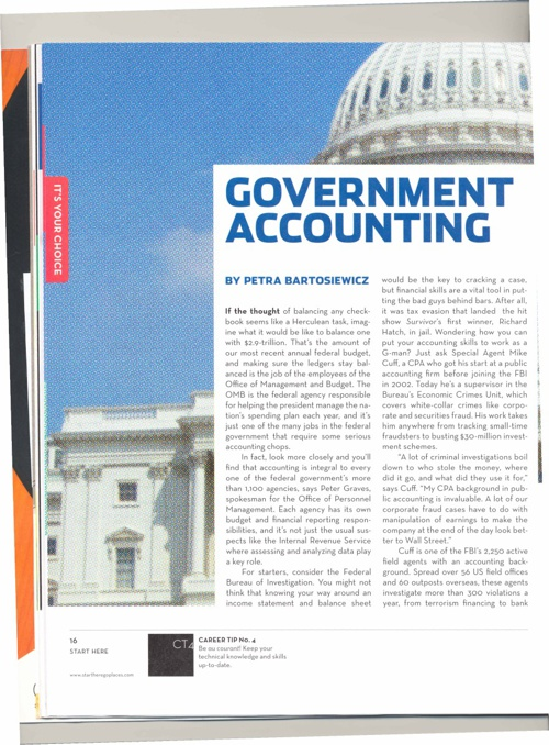 Different Accounting Pathways
