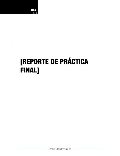 Reporte Práctica PA