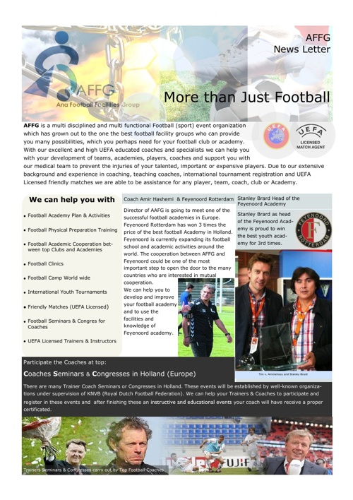 News Letter March 2013
