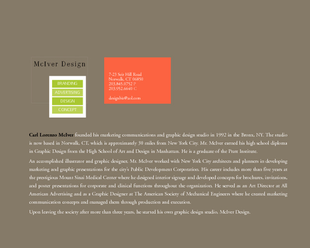 McIver Design Portfolio