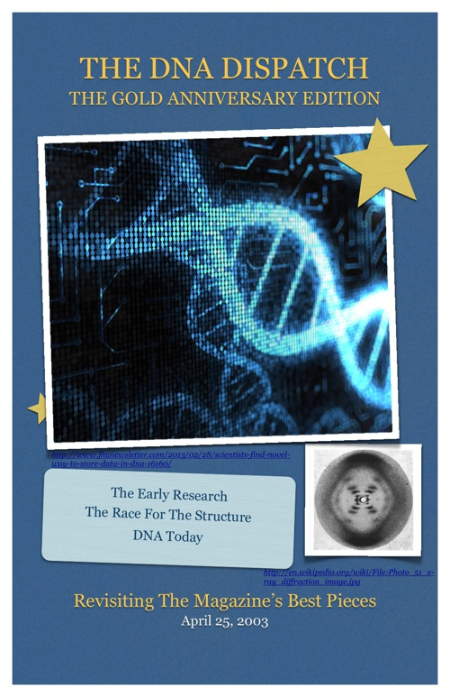 The DNA Dispatch