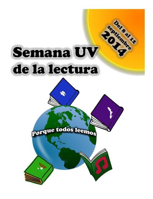 Programa Semana UV de la lectura 2014