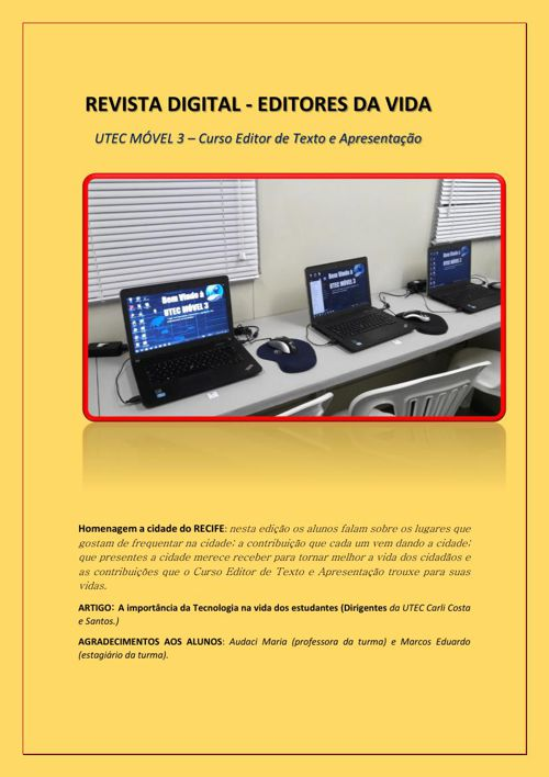 REVISTA - EDITORES DA VIDA