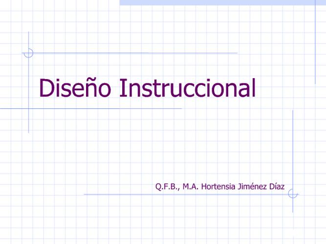 Diseño Instruccional 3
