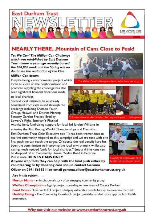 NewsletterApril 2014