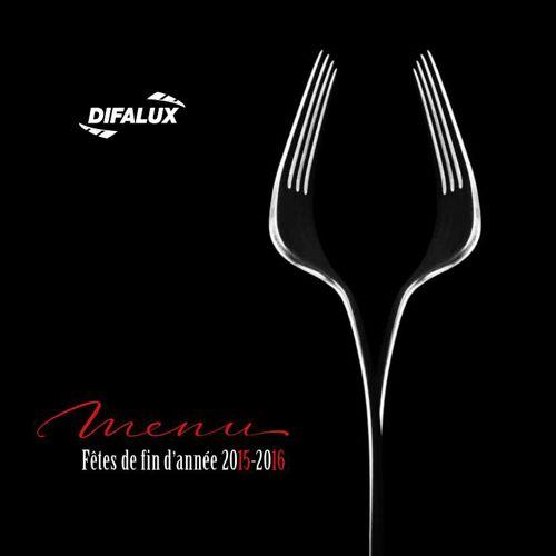 Difalux - Fêtes 2015-2016