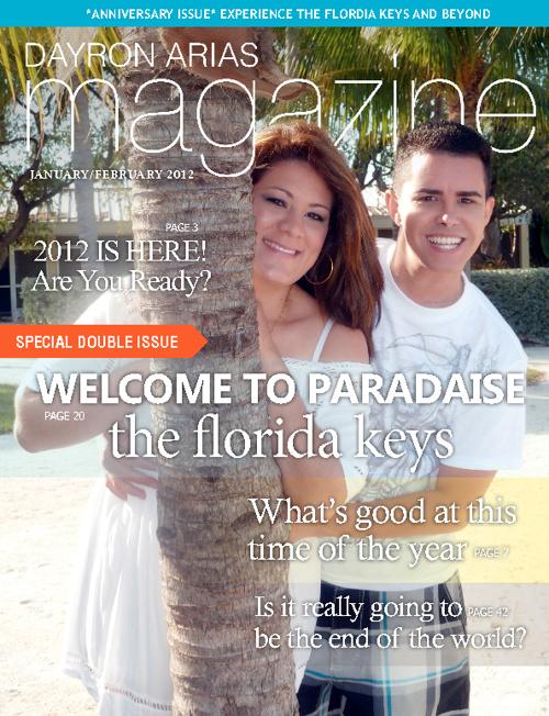 Dayron Arias Magazine - January/February 2012