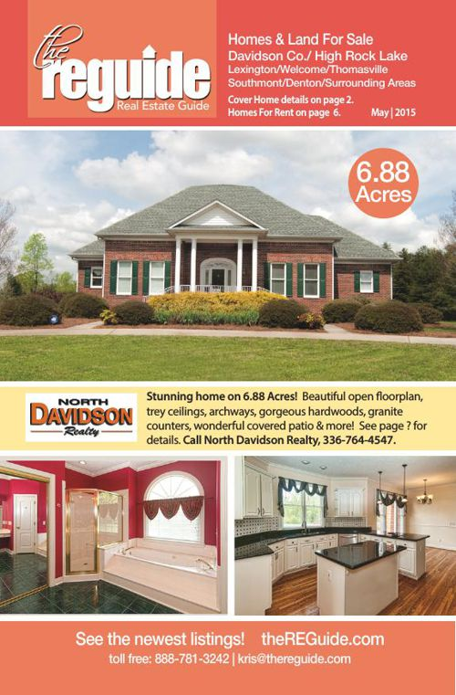 Davidson County Real Estate Guide May 2015