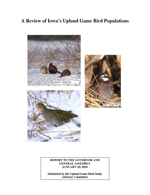 Bird Populations in Iowa