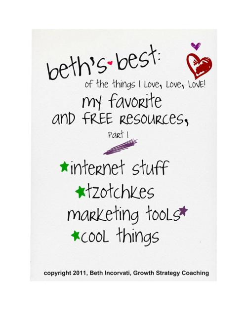 Beth's Best Web