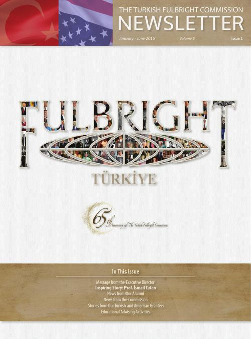 The Turkish Fulbright Commission Newsletter Vol.5