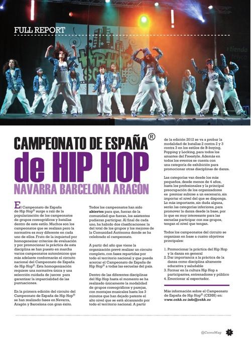 Campeonato de España de Hip Hop