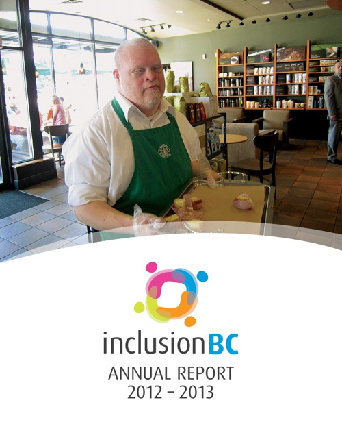 Inclusion BC 2012/13 Annual Report