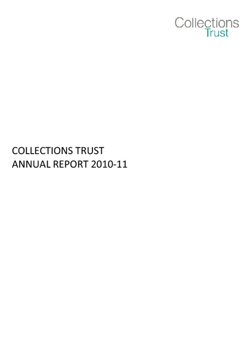 Collections Trust Annual Report 2010-11