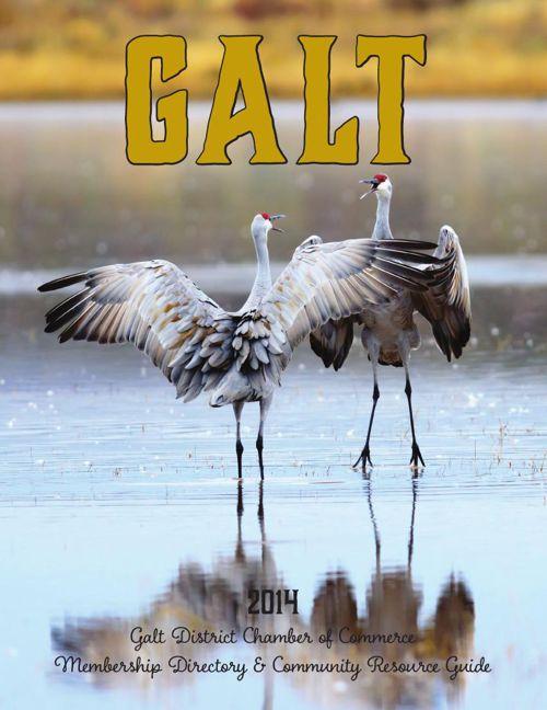 2014 Galt Chamber Directory Flip Book