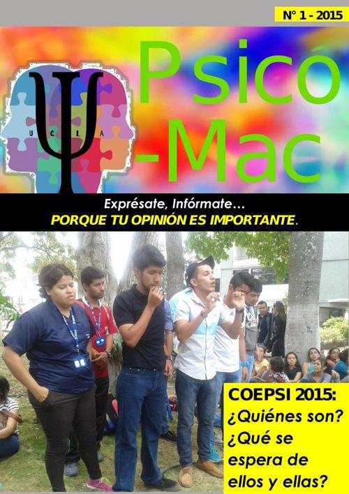 PsicoMAC N° 1 -2015 pdf