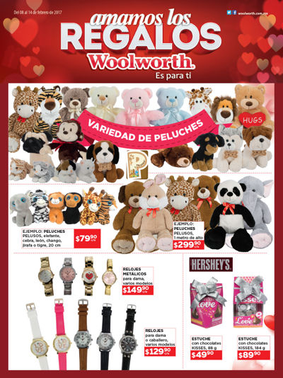 folleto woolworth 14 de febrero 2017