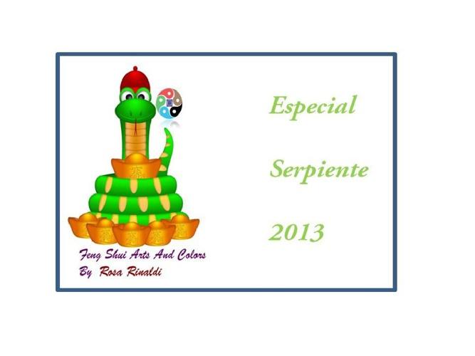 Especial Serpiente de Agua 2013