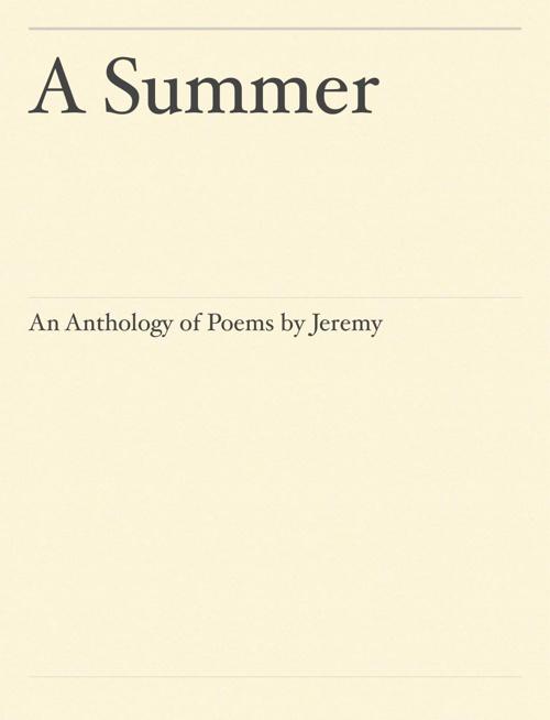 Jeremy's Anthology