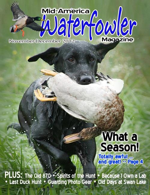 Nov.-Dec. Mid-America Waterfowler magazine