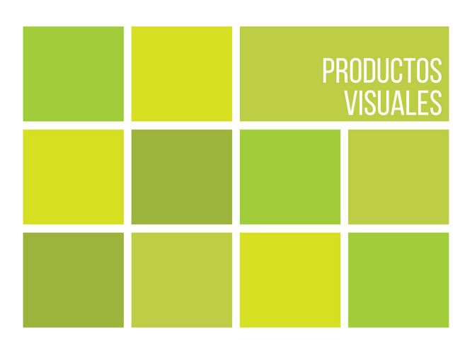 Productos visuales