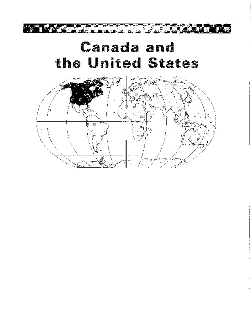 Canada and the U.S. Mapping Packet