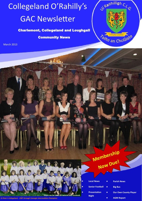 Club Newsletter - March 2013