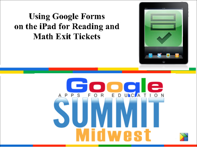 Google Forms and iPads