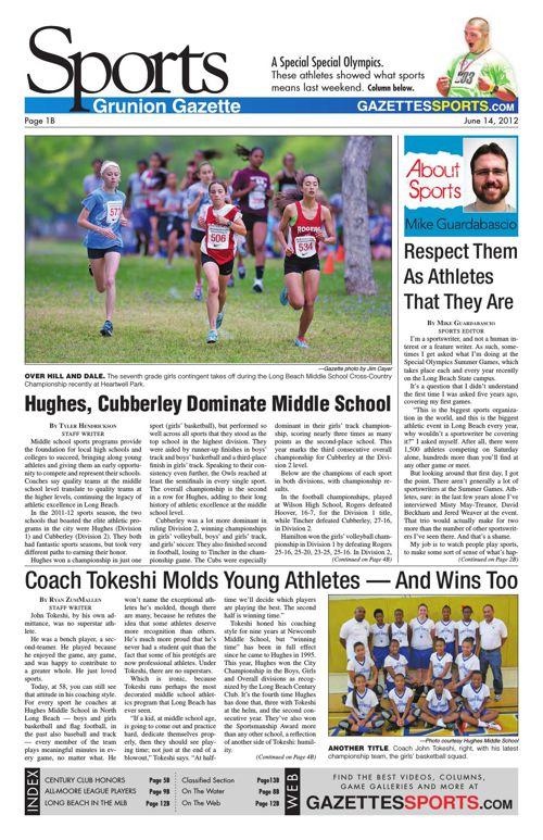 Gazette Sports | June 14, 2012