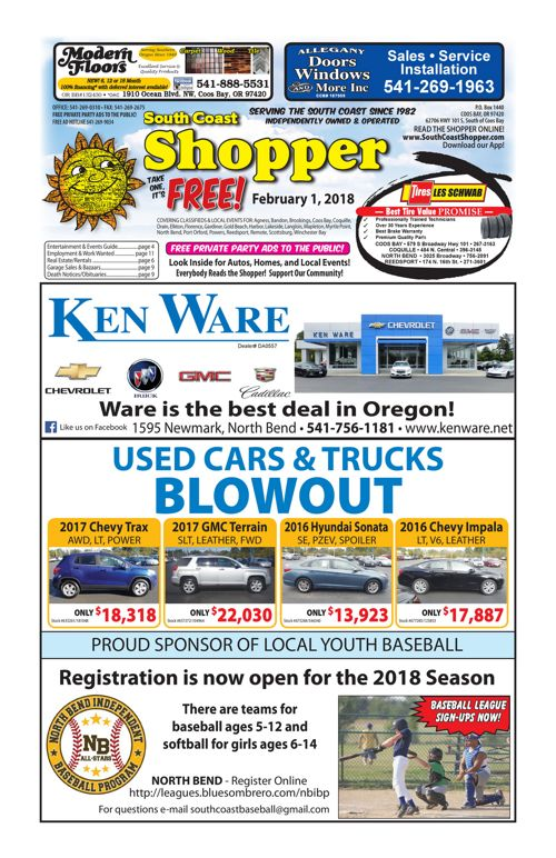 South Coast Shopper e-Edition 2-1-18