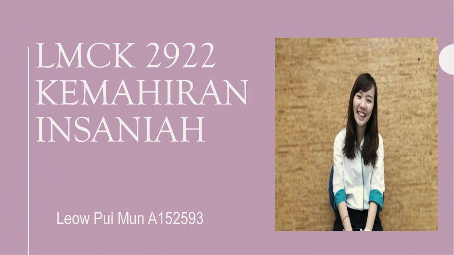 LMCK 2922