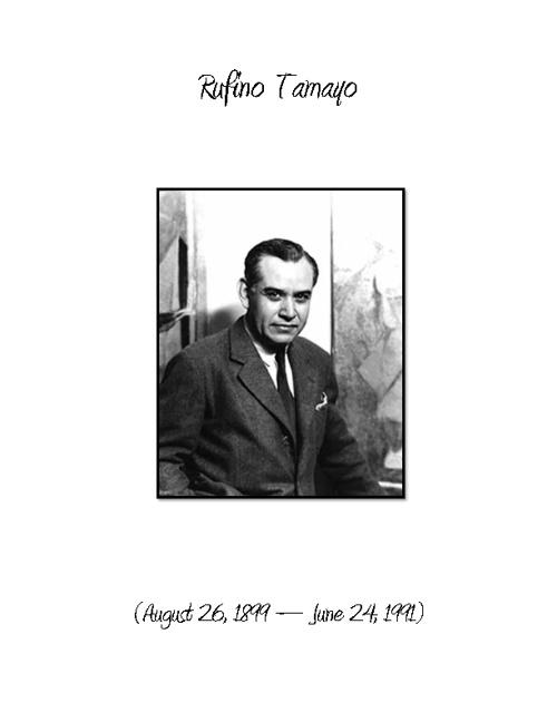 Rufino Tamayo-Art Research